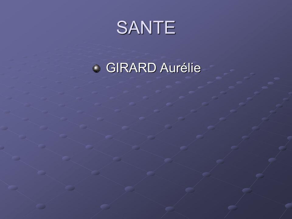 SANTE GIRARD Aurélie GIRARD Aurélie