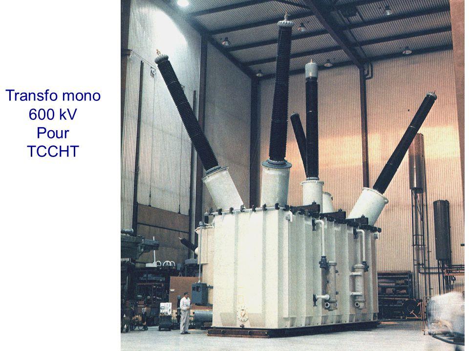 Transfo mono 600 kV Pour TCCHT