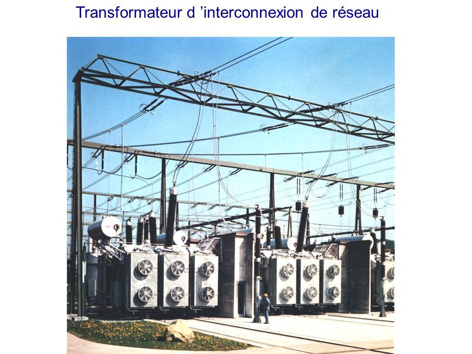 Transformateur triphasé 250 MVA, 735 kV d Hydro-Quebec