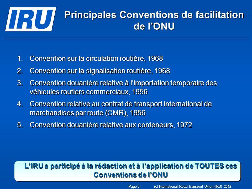 www.iru.org Page 59(c) International Road Transport Union (IRU) 2012