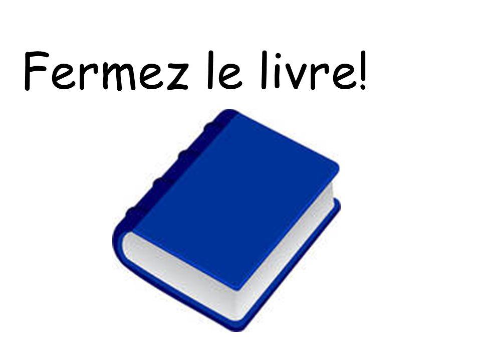 Fermez le livre!