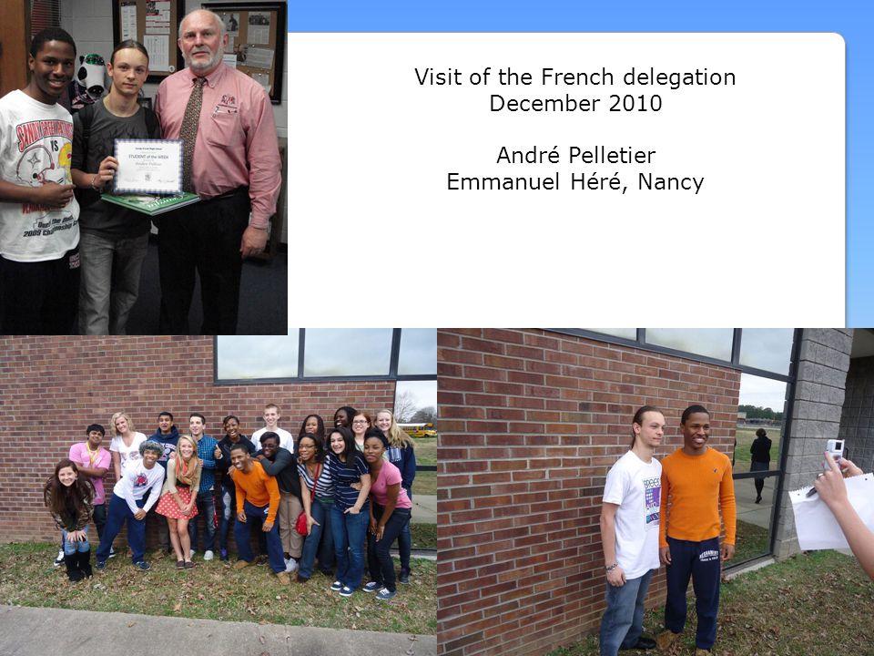Visit of the French delegation December 2010 André Pelletier Emmanuel Héré, Nancy