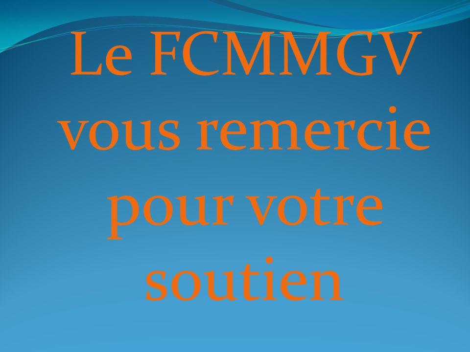 Le FCMMGV vous remercie pour votre soutien