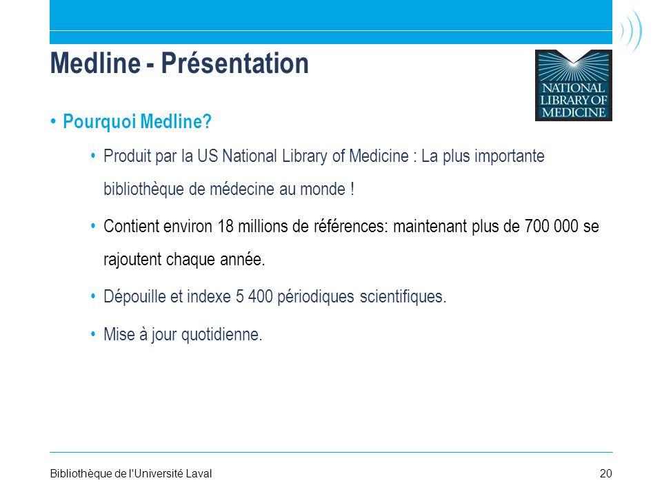 Medline - Présentation Pourquoi Medline.