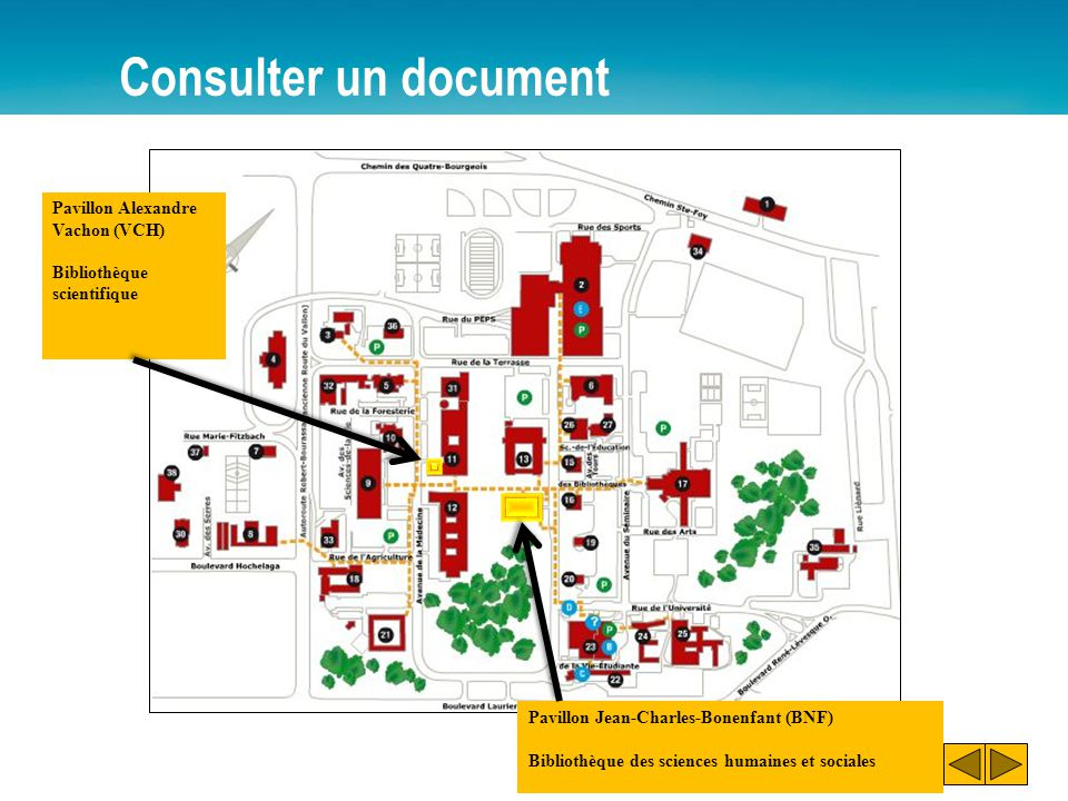 Consulter un document Pavillon Jean-Charles-Bonenfant (BNF) Bibliothèque des sciences humaines et sociales Pavillon Alexandre Vachon (VCH) Bibliothèqu