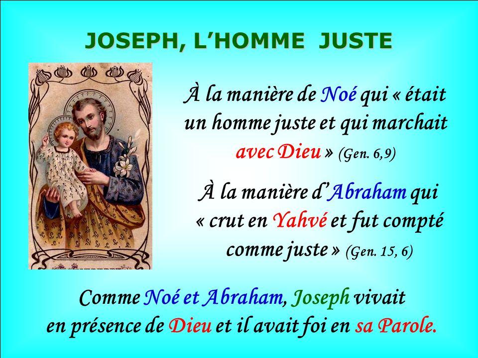 .. 3 ième songe Mt, 1, 23 Retour de lÉgypte En chemin, Joseph a été LAmi fidèle de Jésus et Marie LAmi fidèle de Jésus et Marie Leur Gardien vigilant