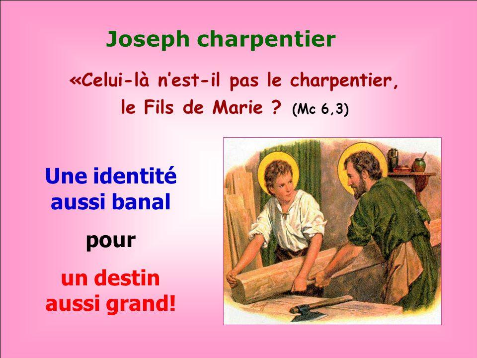 .. JOSEPH, LHOMME JUSTE À la manière de Noé qui « était un homme juste et qui marchait avec Dieu » (Gen. 6,9) À la manière dAbraham qui « crut en Yahv