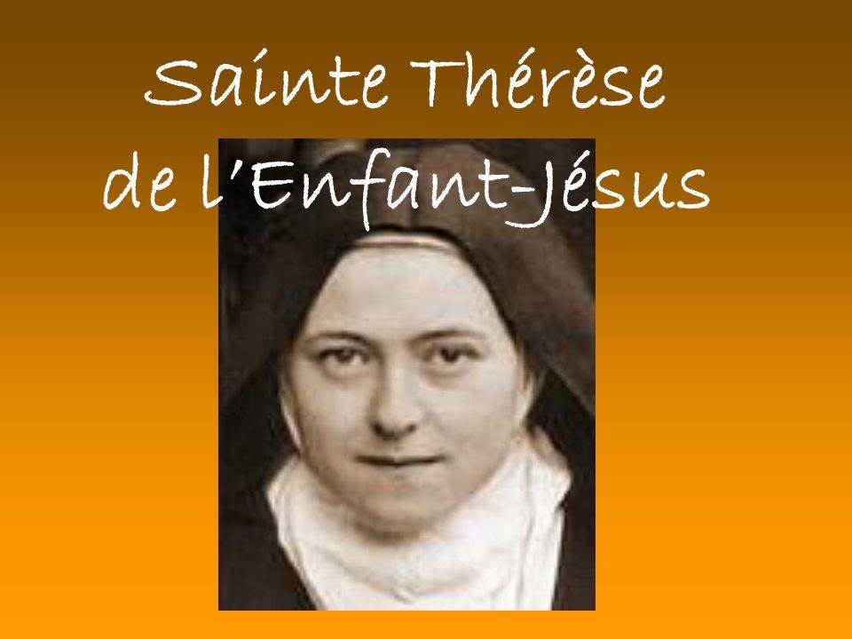 Sainte Thérèse de lEnfant-Jésus