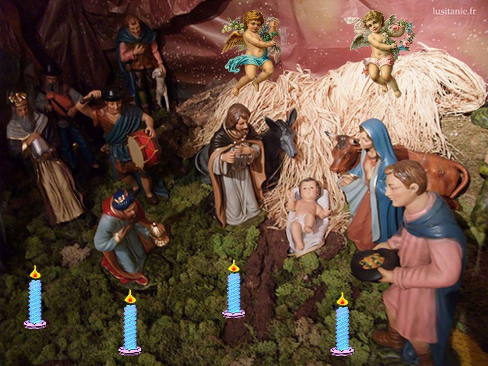 Avec les bergers, Accourons tout en exultation, dans la joie dêtre nous aussi témoins du message de paix et de salut pour tous.