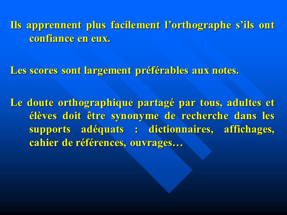 Comment enseigner lorthographe .a.