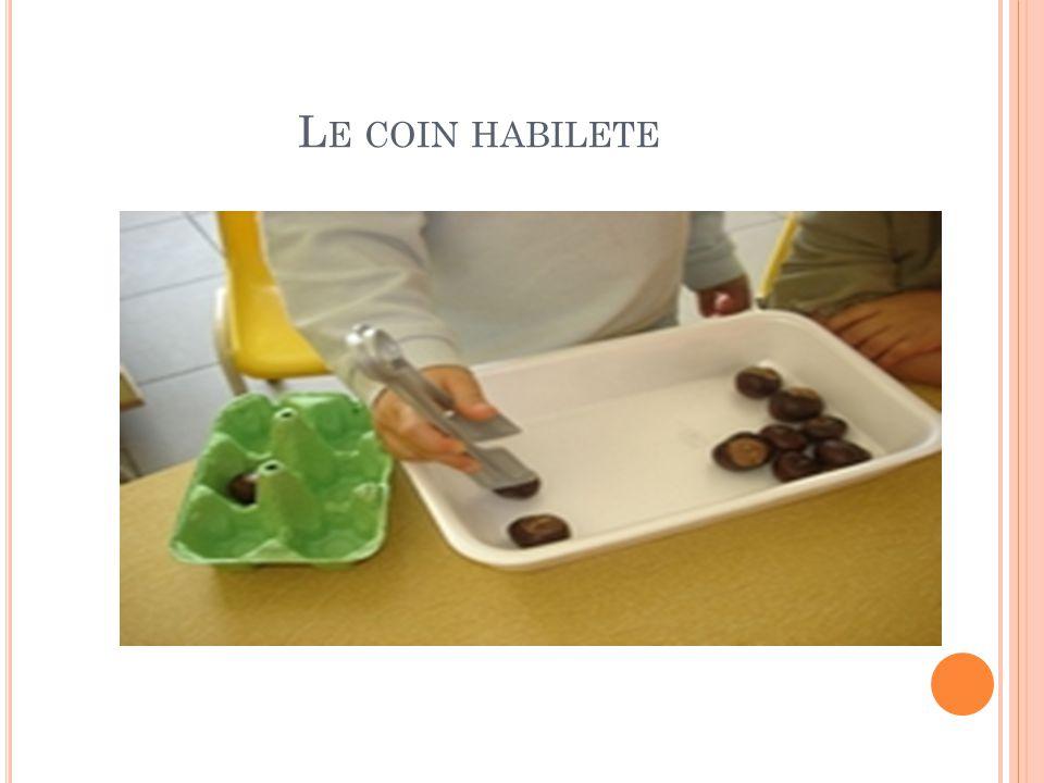L E COIN HABILETE