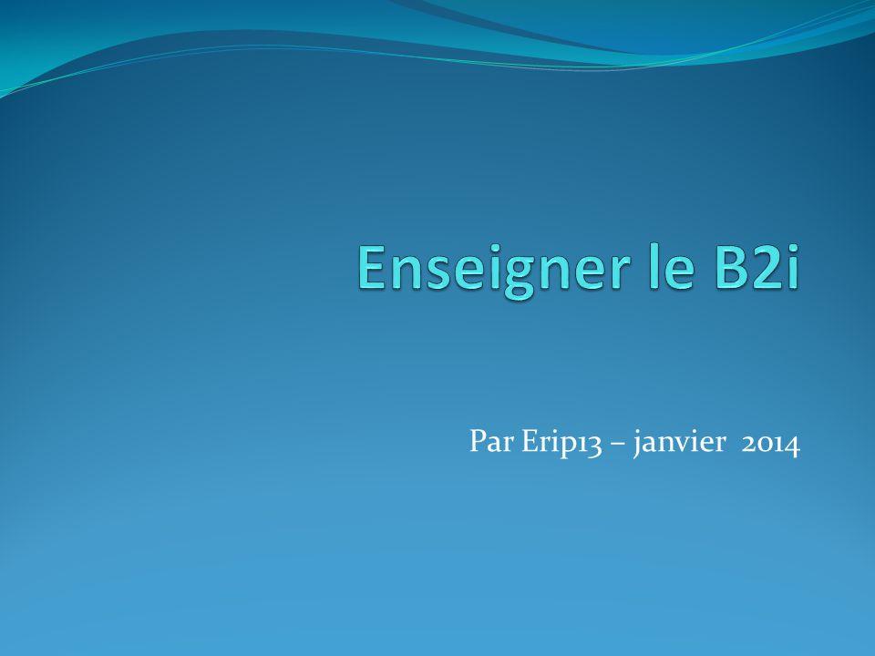 Domaine 3 : Créer, produire, traiter, exploiter des données Site IA44 Nantes Ressources pour le B2i au cycle 1 http://www.pedagogie.ac- nantes.fr/98846921/0/fiche___pagelibre/&RH=1176968804625 Ressources pour le B2i au cycle 2 http://www.pedagogie.ac- nantes.fr/99055125/0/fiche___pagelibre/&RH=1178098410609 Ressources pour le B2i au cycle 3 http://www.pedagogie.ac- nantes.fr/99140953/0/fiche___pagelibre/&RH=1178098410609 Lecriveron – petits livres http://lecriveron.fr/