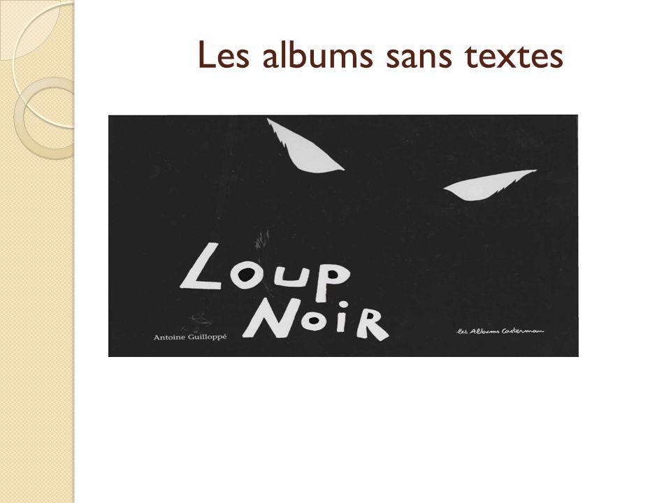 Les albums sans textes