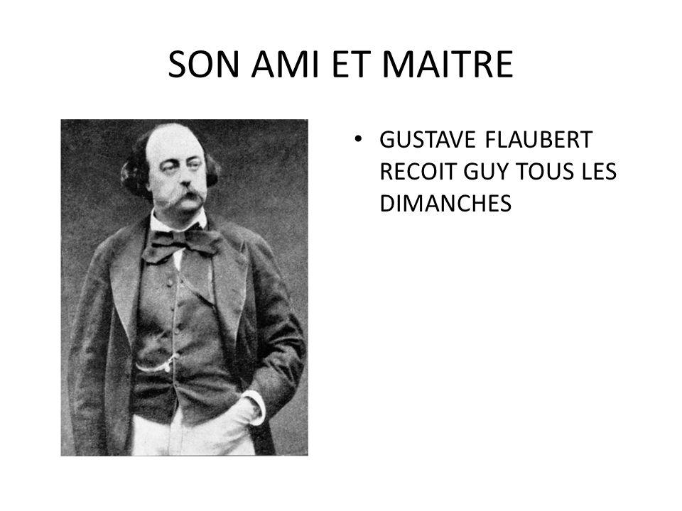 GUY DE MAUPASSANT ADULTE