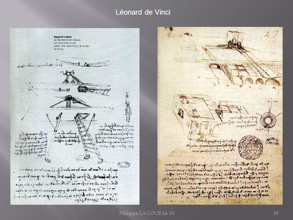 Philippe LA COUR IA 1319 Léonard de Vinci