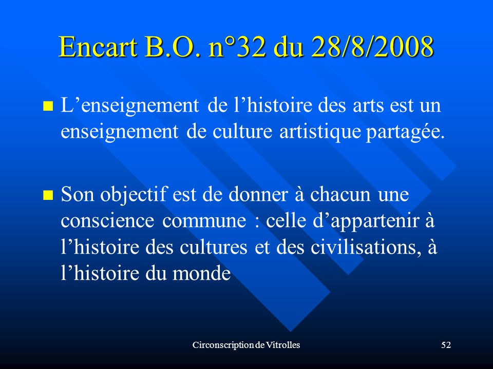 Circonscription de Vitrolles52 Encart B.O.