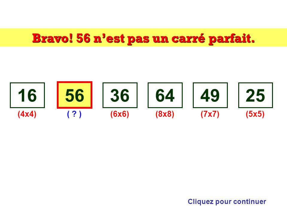 Trouvez lintrus: Cliquez sur lintrus 165636644925 Indice: carré
