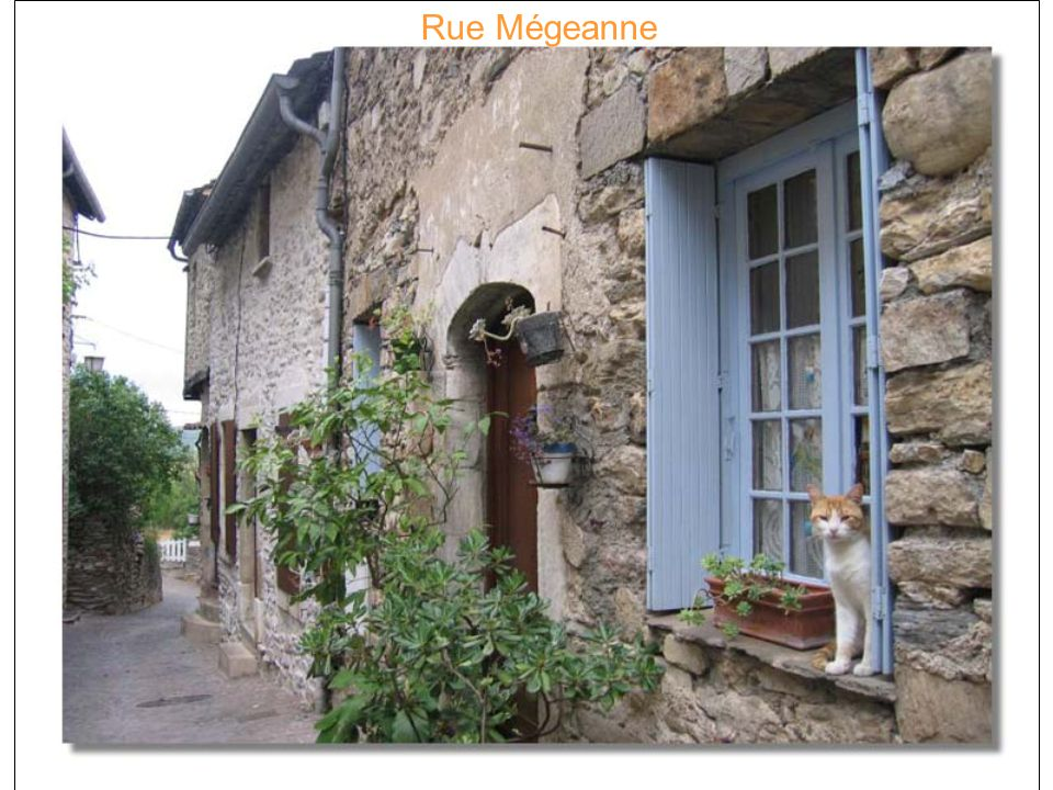 Rue Mégeanne