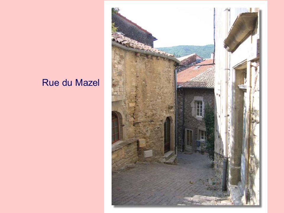 Rue du Mazel