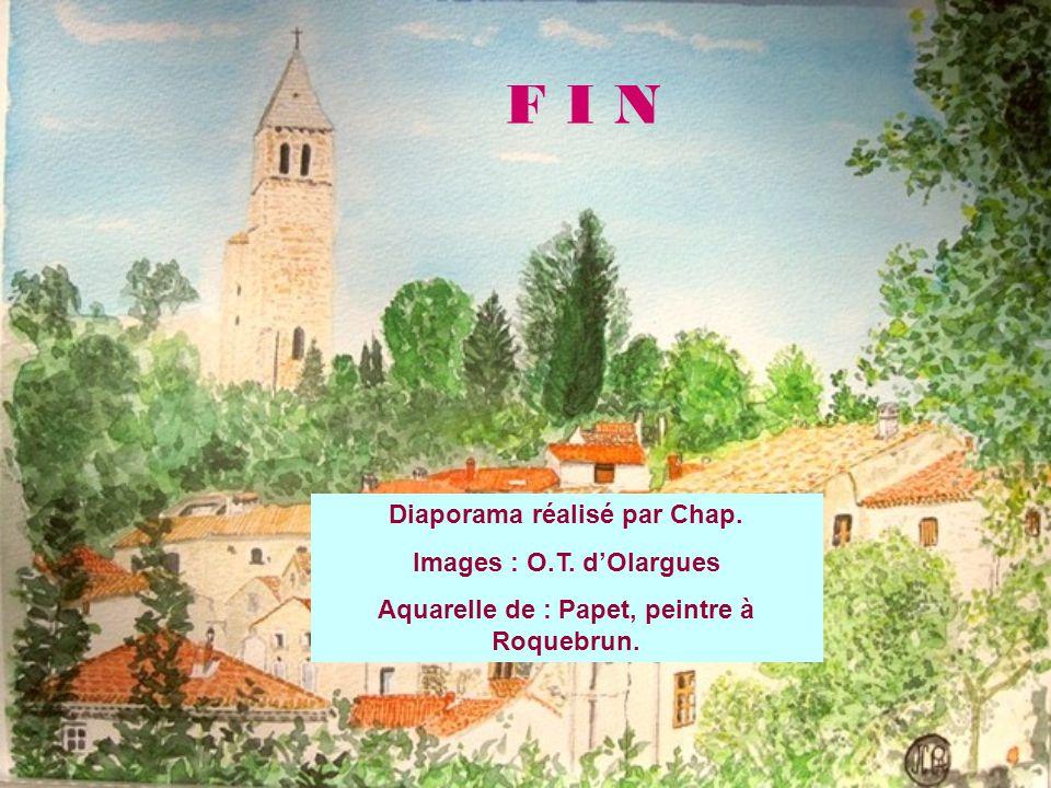 F I N Diaporama réalisé par Chap. Images : O.T.