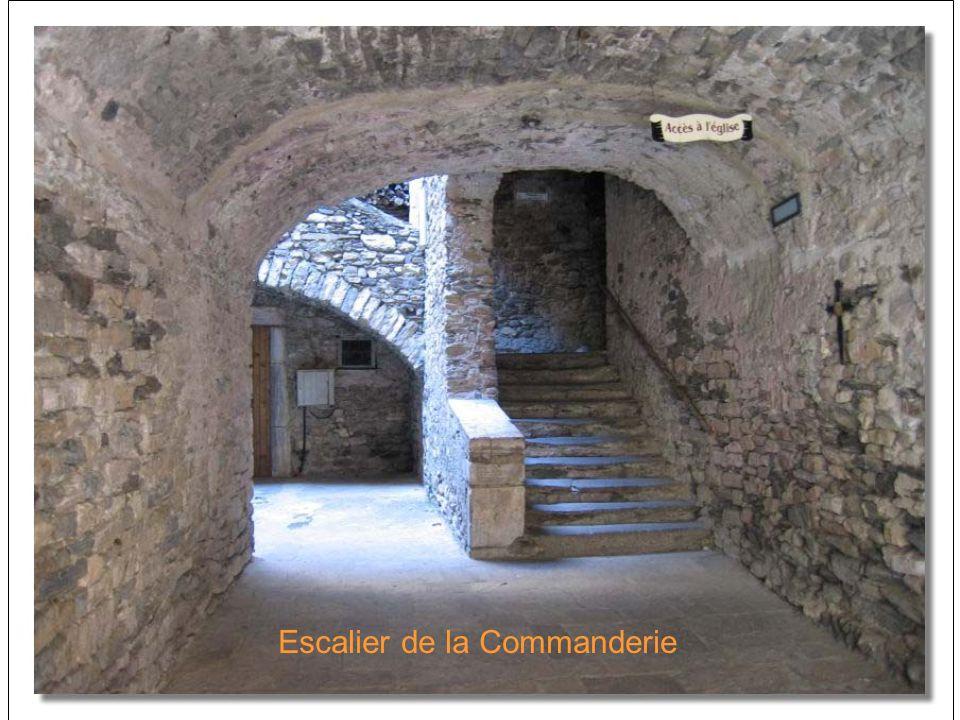 Escalier de la Commanderie