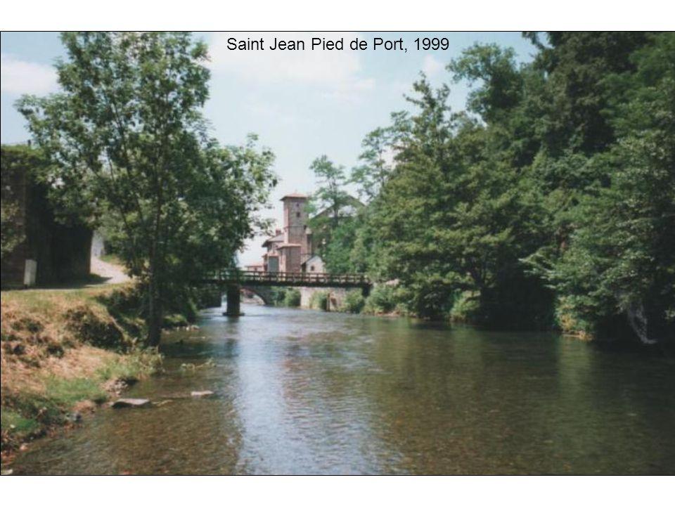 Saint Jean Pied de Port, 1999