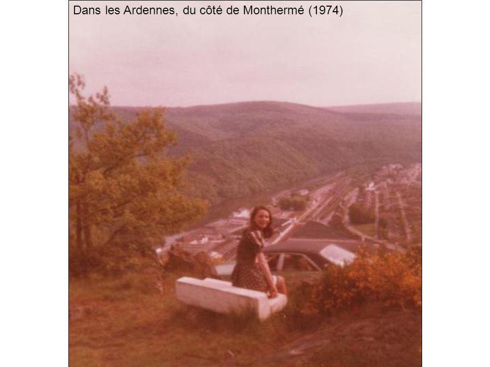 Dans les Ardennes, du côté de Monthermé (1974)