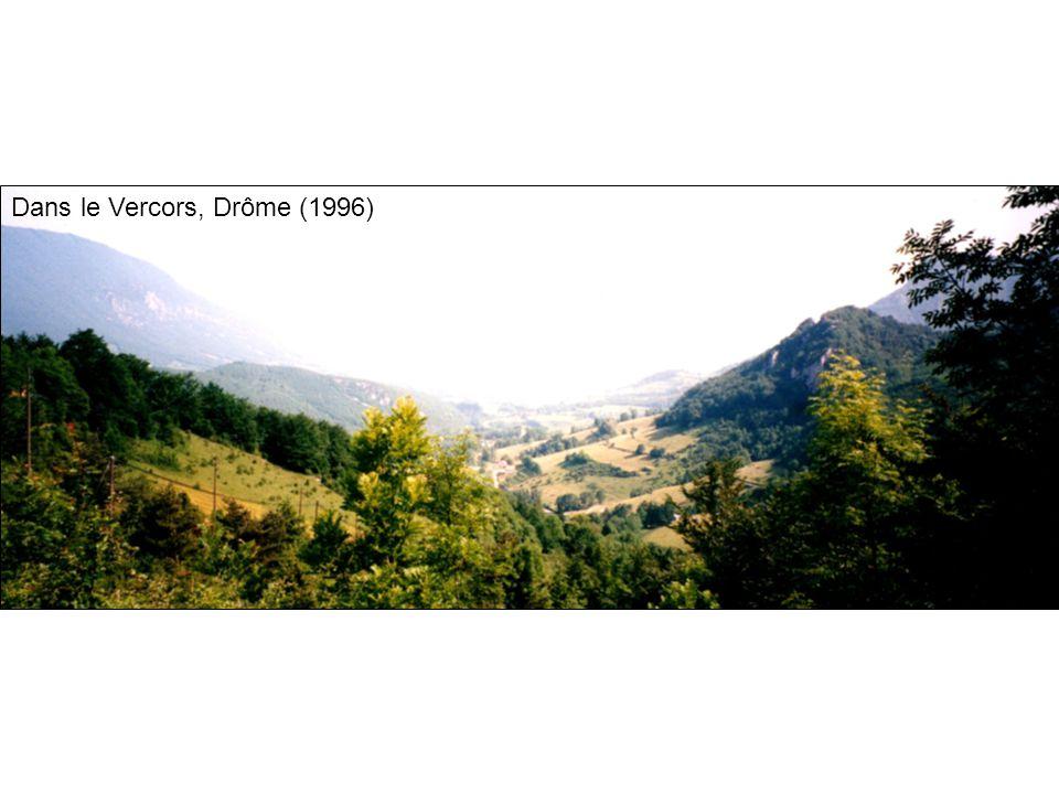 Dans le Vercors, Drôme (1996)