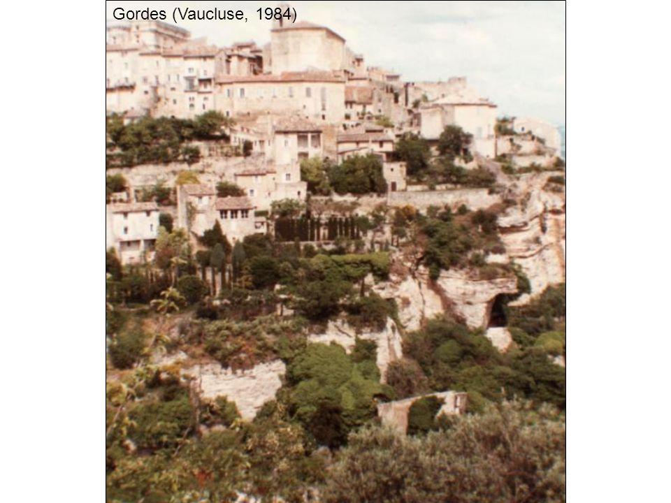 Gordes (Vaucluse, 1984)