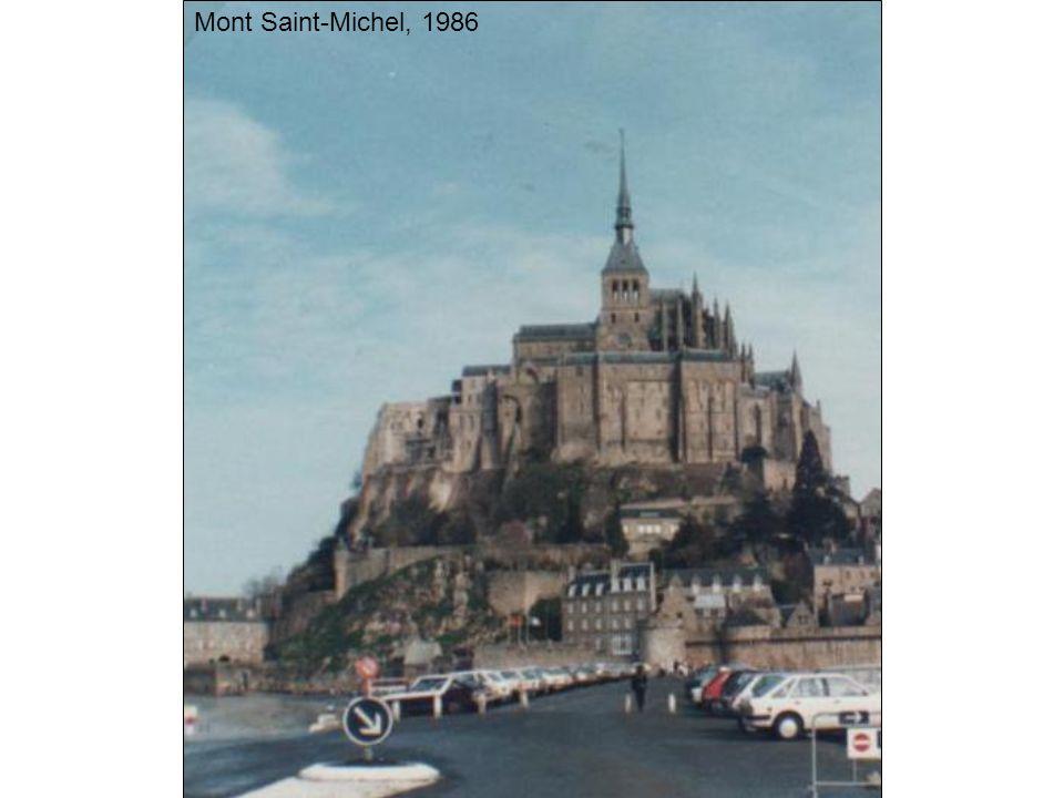 Mont Saint-Michel, 1986