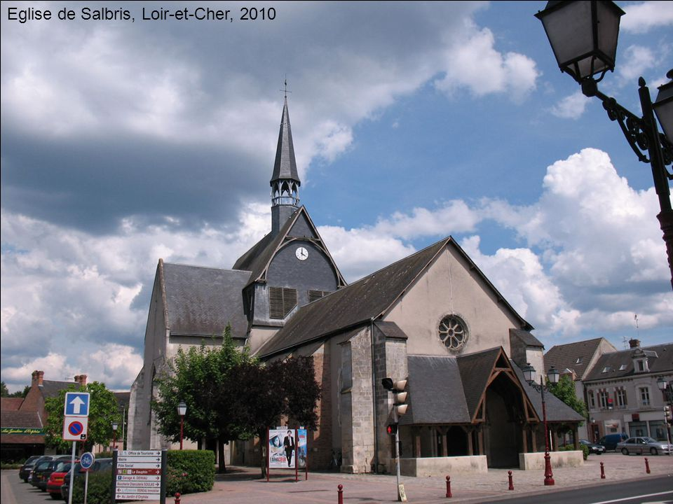 Eglise de Salbris, Loir-et-Cher, 2010