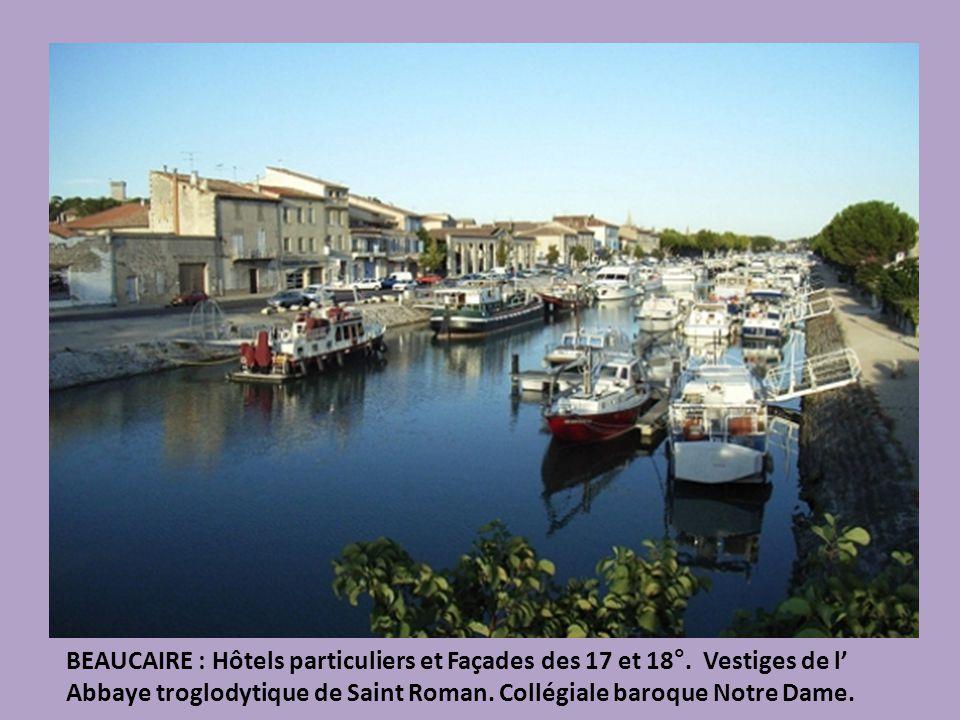UZES : cité ducale, ruelles médiévales, tours majestueuses, hôtels à portiques.