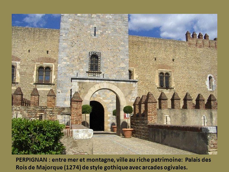 BEAUCAIRE : Hôtels particuliers et Façades des 17 et 18°. Vestiges de l Abbaye troglodytique de Saint Roman. Collégiale baroque Notre Dame.