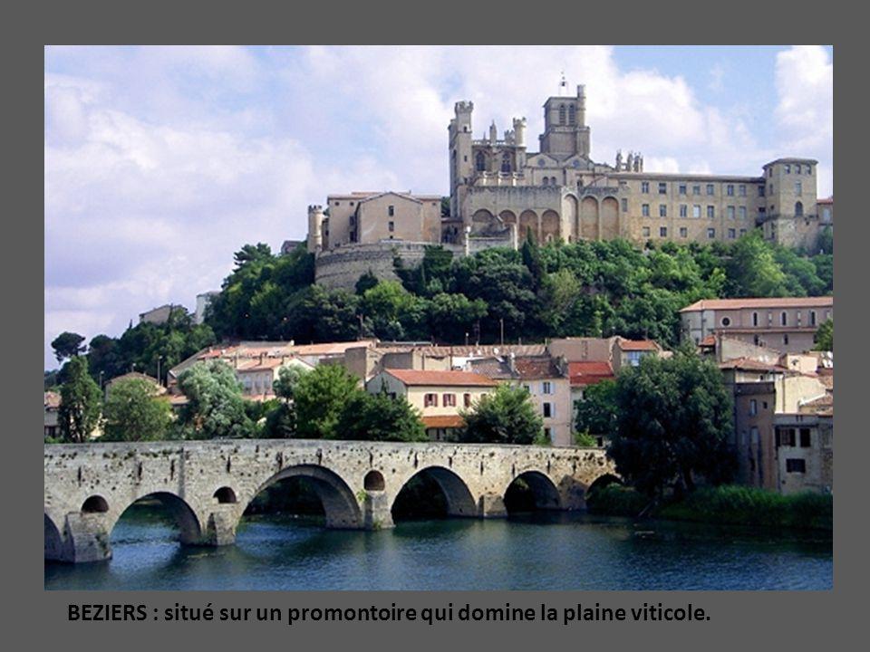PALAVAS les FLOTS : Héritage médiéval à coté de bâtiments modernes Voir : Redoute de Ballestras et Château dEau (restaurant panoramique)