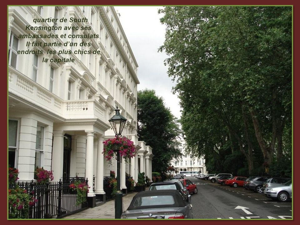 Kensington Palace La moitie de ce palais est occupée par des membres de la famille royale.