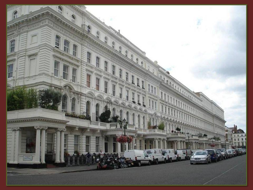 quartier de South Kensington avec ses ambassades et consulats Il fait partie dun des endroits les plus chics de la capitale