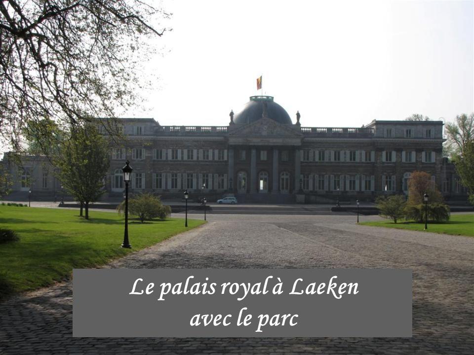 Les serres royales de Laeken (Bruxelles – Belgique)