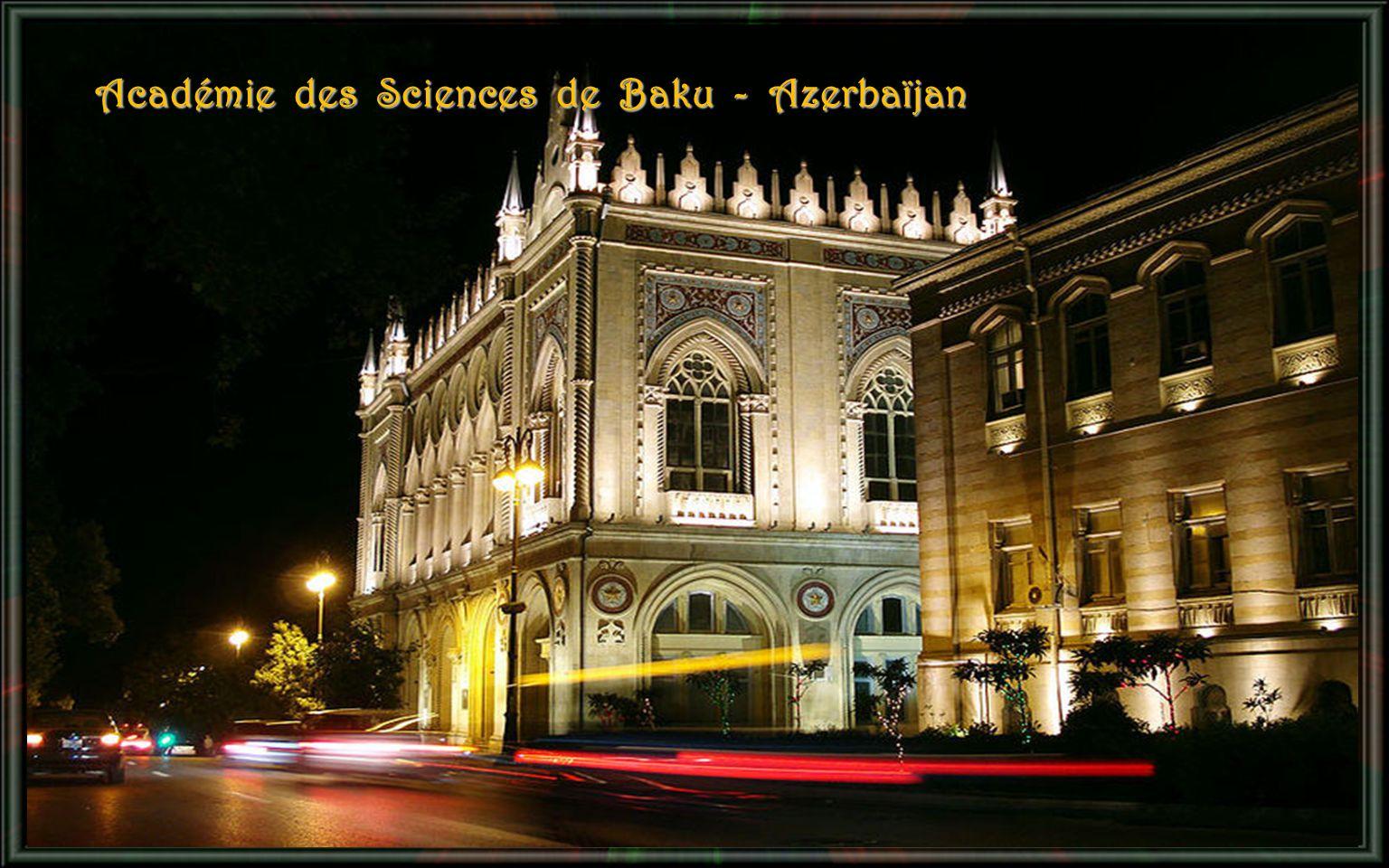 Académie des Sciences de Baku - Azerbaïjan