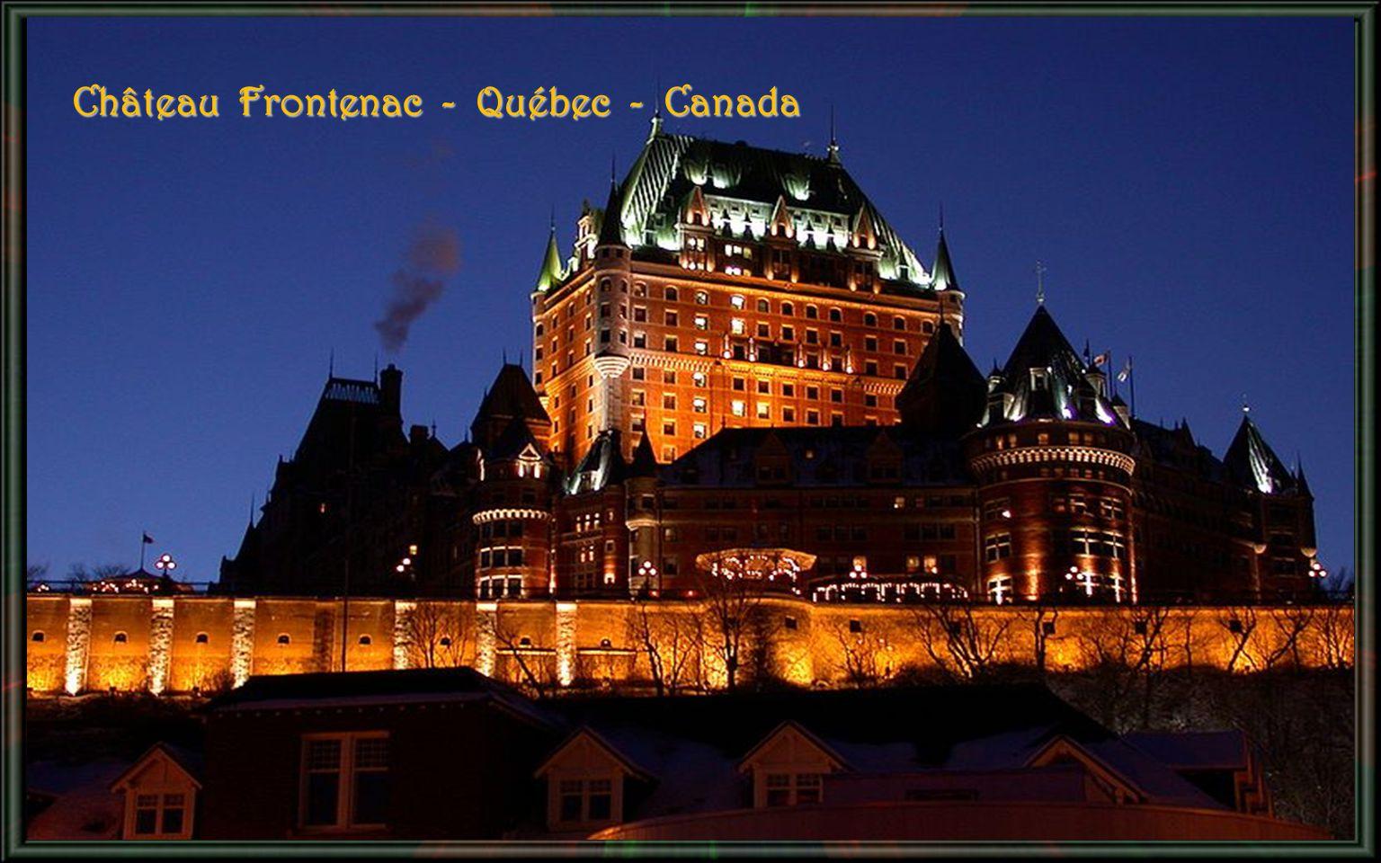 Château Frontenac - Québec - Canada