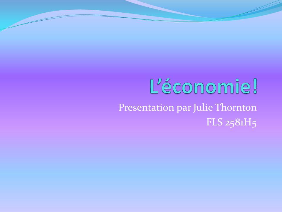 Presentation par Julie Thornton FLS 2581H5