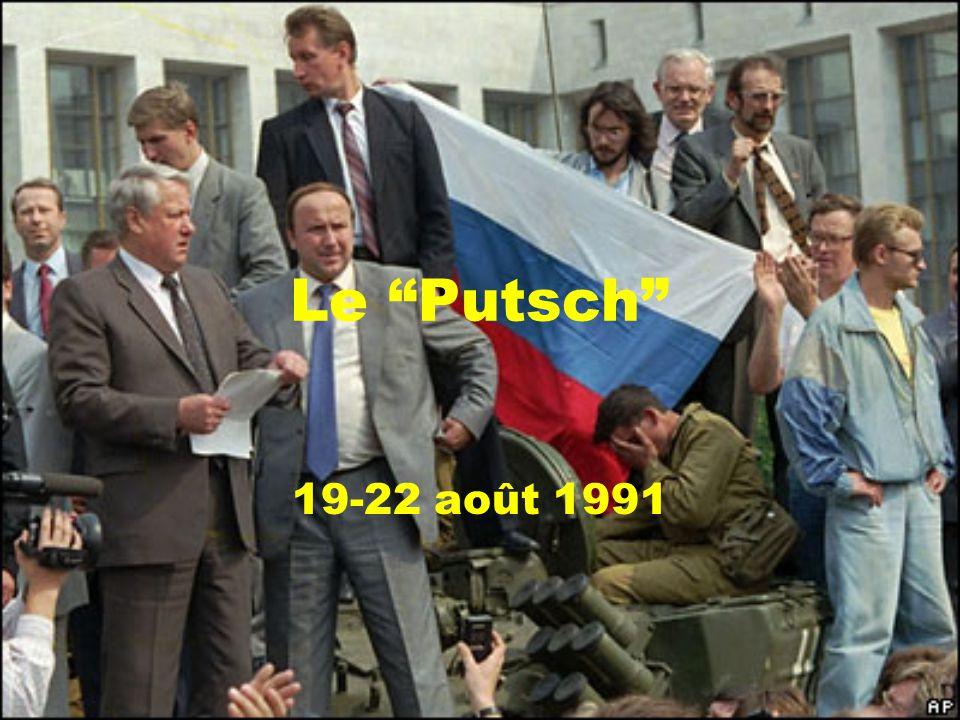 Le Putsch 19-22 août 1991