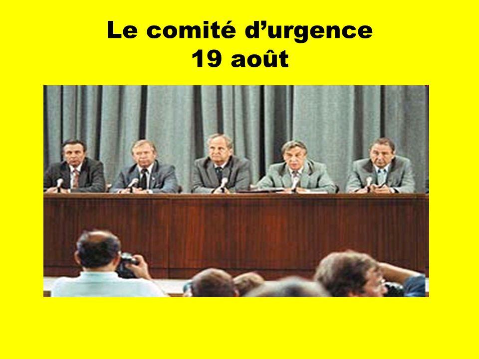 Le comité durgence 19 août