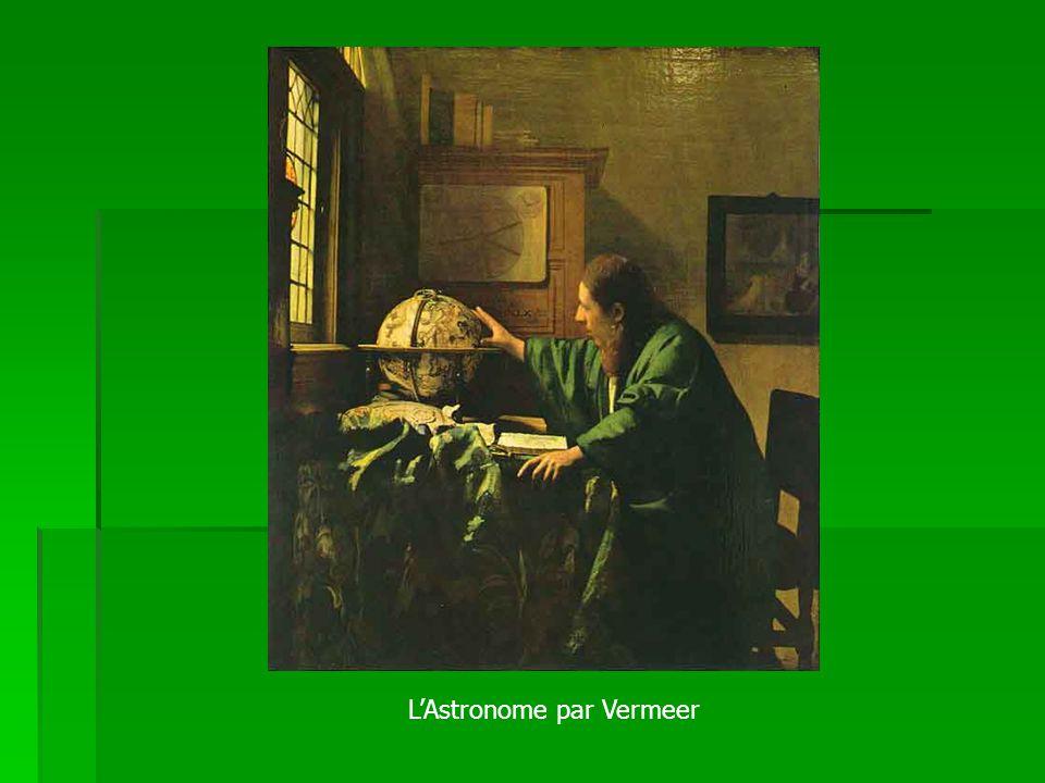 LAstronome par Vermeer