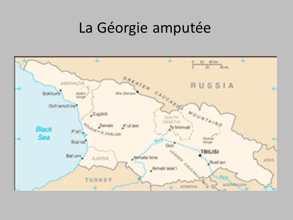 La Géorgie amputée