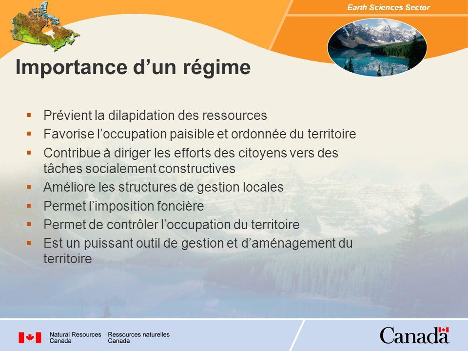 Earth Sciences Sector OÙ.COMBIEN. COMMENT. POURQUOI.