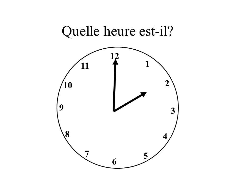 Il est dix heures dix.