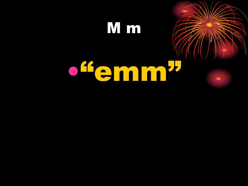 M m emm