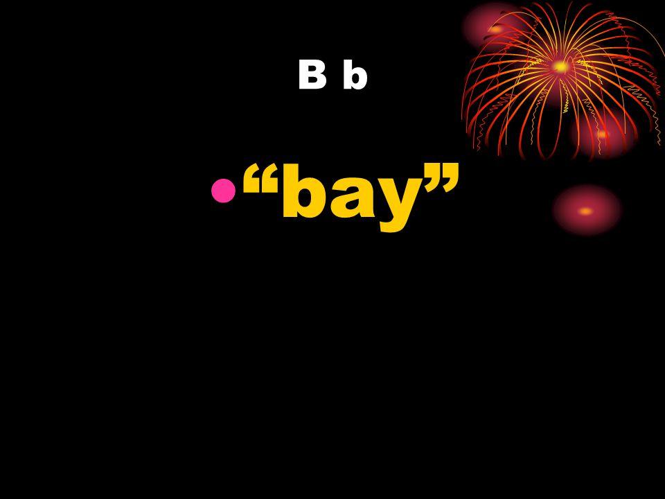B b bay