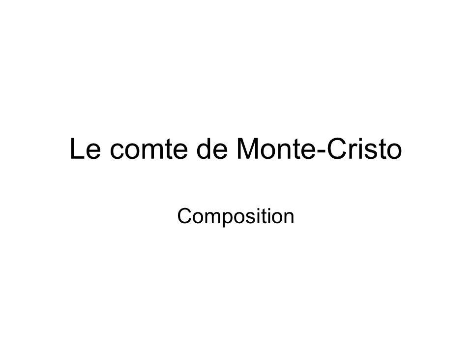 Le comte de Monte-Cristo Composition