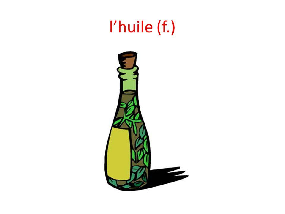 lhuile (f.)